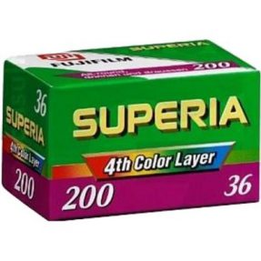 Fujifilm OLD STOCK Fujifilm Superia 200 135/36