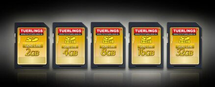 Tuerlings Gold Line 16GB Micro SDHC Class10 geheugenkaart