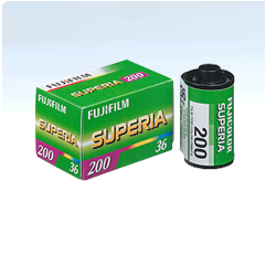 Fujifilm OLD STOCK 50 BOX Superia 200-36 50 films
