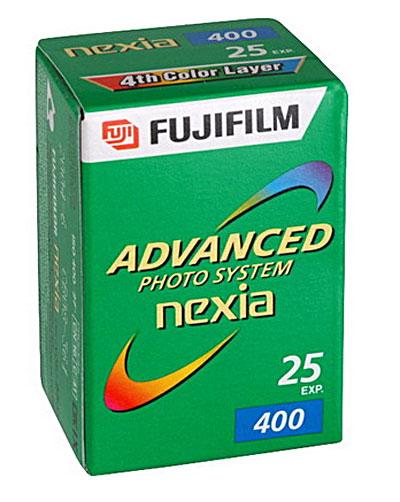 Fujifilm OLD STOCK Fujifilm Nexia 400 APS/25