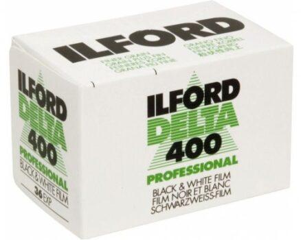 Ilford Delta 400 Prof. 135 zwart-wit film met 36 opnames