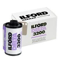 Ilford Delta 3200 Prof. 135 zwart-wit film met 36 opnames