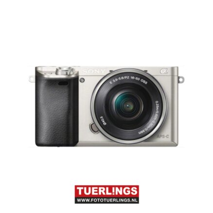 Sony A6000LS / ILCE-6000LS / ILCE6000LS / A6000 + 16-50mm lens zilver