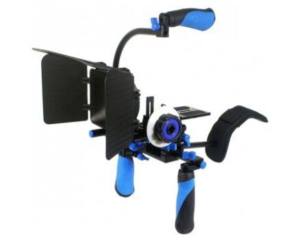 Ringlight Spiegelreflex Schouder Rig RL-02 Kit (F0, M1, top handle + weight)