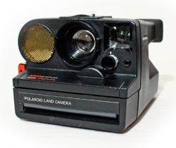 Polaroid Refurbished Sonar AutoFocus 5000 + Flitser
