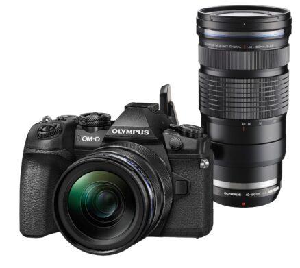 Olympus E-M1 Mark II zwart + 12-40mm F2.8 PRO + 40-150mm F2.8 ED PRO