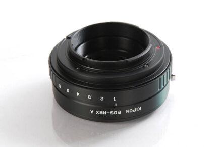 Kipon Canon EF/EOS naar Sony NEX (incl. diafragma)