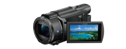 Sony FDRAX53B 4K camcorder