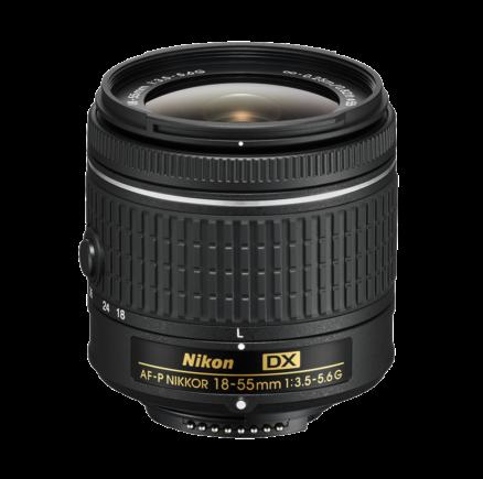 Nikon AF-P DX NIKKOR 18–55mm f/3.5–5.6G VR