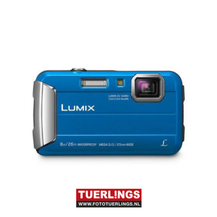 Panasonic LUMIX DMC-FT30 blauw