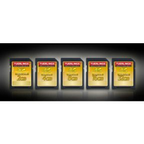 Tuerlings Gold Line 256GB Micro SDXC Class10 geheugenkaart
