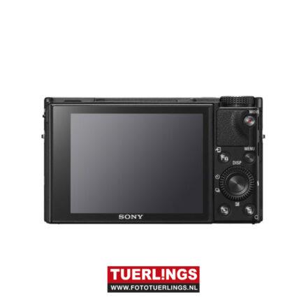 Sony DSC-RX100M6 zwart (RX100VI) RX100 mark 6