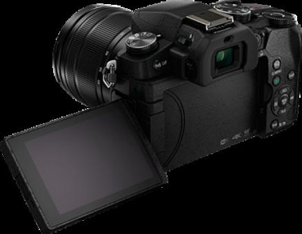 Panasonic G-SERIE DMC-G80H zwart