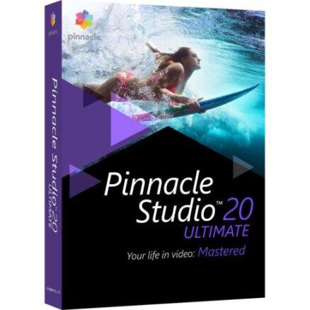 Posa Pinnacle Studio 20 Ultimate (Win) NL