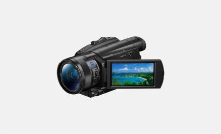 "Sony FDRAX700B 4K Recording, 20.0/14.2M, 1"" Sensor"
