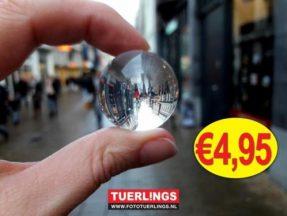 Tuerlings Glazen foto bol (30mm)