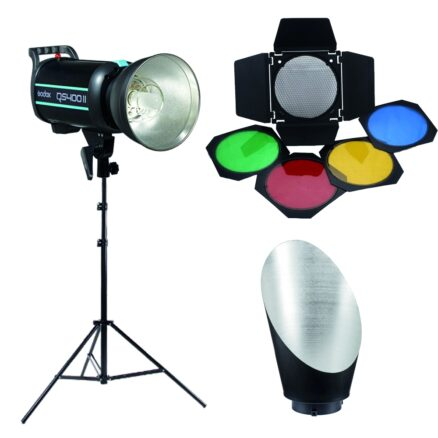 Godox QS400II Background KIT