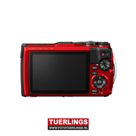 Olympus Tough TG-6 Rood