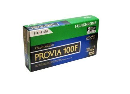 Fujifilm Provia 100F 120 5-Pak kleurendiafilm
