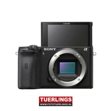 Sony A6600M / ILCE-6600M / ILCE6600M /  A6600 + 18-135mm lens zwart
