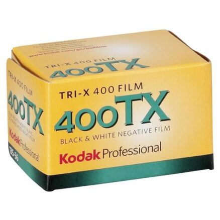 Kodak TRI-X TX 400 kleinbeeld 135, 36 opnamen zwart-wit film