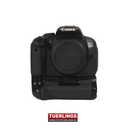 Canon EOS 650D Body+Batterij grip Occasion