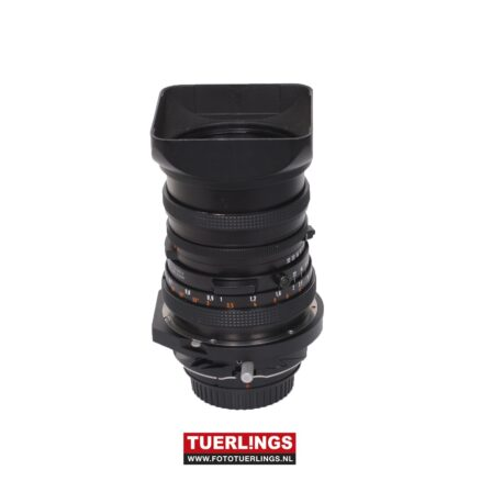 Zeiss Distagon T* 50mm F/4 Fle CF Lens CF + Tiltschift adapter voor Canon occasion