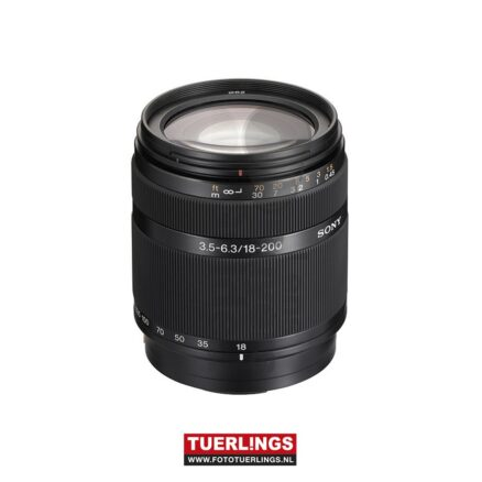 Sony 18-200 mm – F3.5-6.3 A-mount occasion