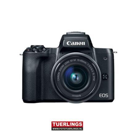 Canon EOS M50 zwart + 15-45mm IS STM