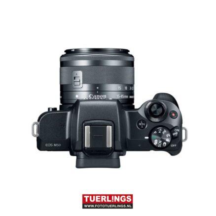 Canon EOS M50 zwart + 15-45mm IS STM-17032