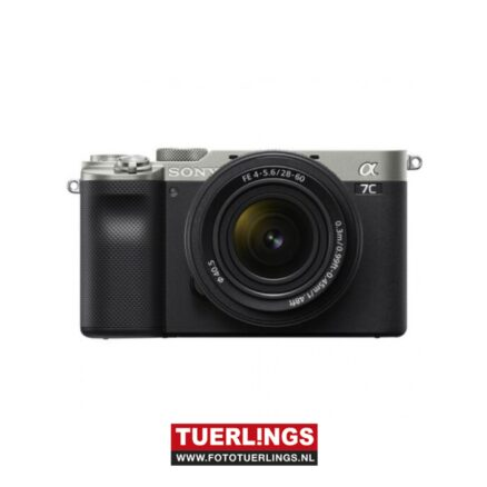 Sony Alpha A7C / ILCE-7CLS / ILCE7CLS + 28-60mm F4-5.6 kit zilver