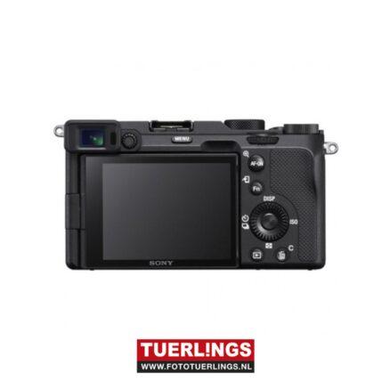 Sony Alpha A7C / ILCE-7CLB / ILCE7CLB + 28-60mm F4-5.6 kit zwart