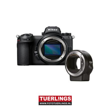 Nikon Z6 II + FTZ adpater kit