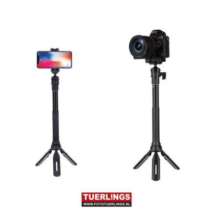 Gizomos GP-12ST Tafel/Selfie Statief/Monopod