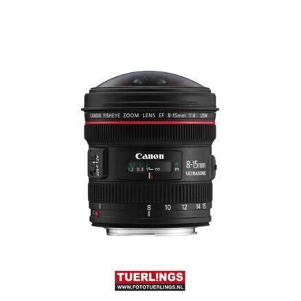 Canon EF 8-15mm F/4.0 L USM fisheye occasion