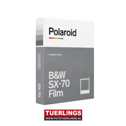 Polaroid B&W instant film for SX70