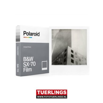 Polaroid B&W instant film for SX70