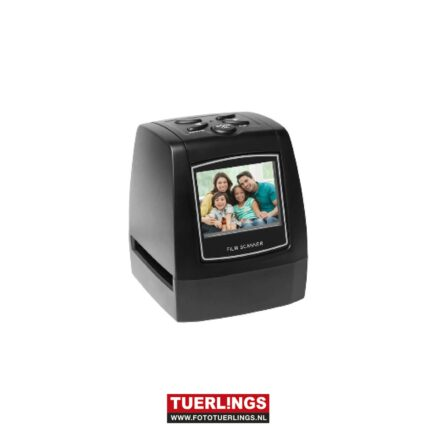 Negatief film scanner met 2,4″ LCD scherm en SD-slot