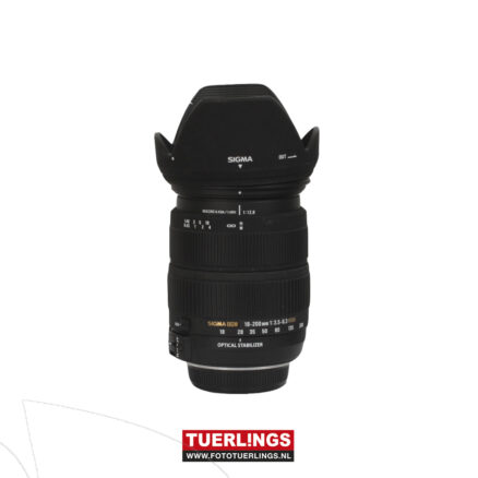 Sigma 18-200mm F3.5-6.3 DC OS HSM voor Nikon occasion