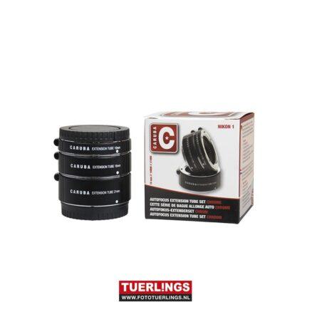 Caruba Extension Tube set Nikon 1-Serie Chroom Occasion