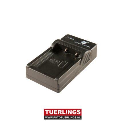 Tuerlings Gold Line usb lader voor Fujifilm NP-W126(s) / Nikon EN-EL8 / JVC BN-VG212U