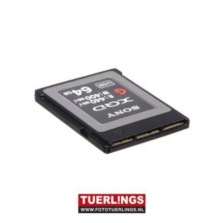 Sony 64 GB XQD-card 440MB/s read 400MB/s write G-Serie