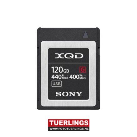 Sony XQD MemoryCard 120GB G-Serie (440/400MB/s)