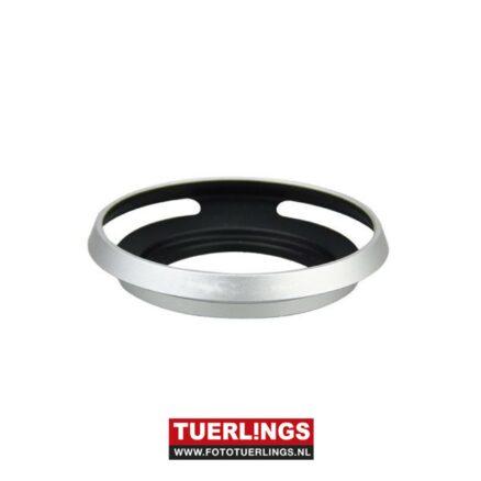 Tuerlings Gold Line Metalen Zonnekap 37mm zilver voor o.a. Panasonic 12-32mm objectief