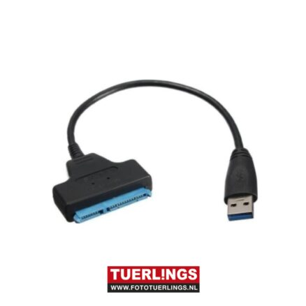 USB 3.0 to SATA 22 Pin 2.5 Inch Hard Disk Driver SSD Adapter Cable Converter
