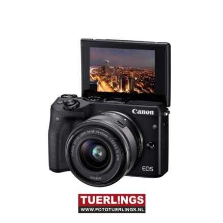 Canon EOS M3 systeemcamera + 15-45mm IS STM occasion