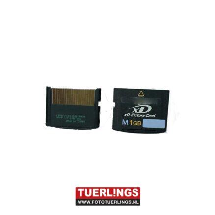 M-xD 1GB type M+ XD geheugenkaart