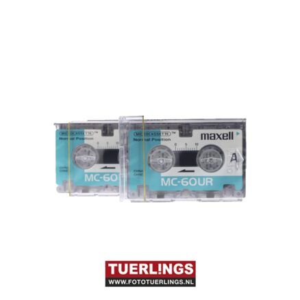 Maxell MC-60 UR microcassettes