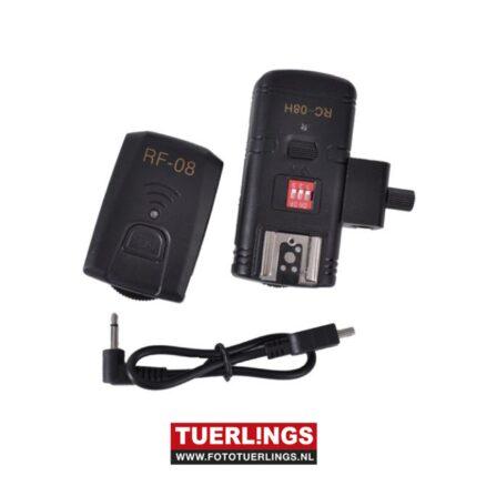 Studio King Radio Trigger Set TRC04H voor Speedlite Camera Flitsers