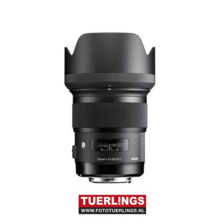 Sigma 50mm F1.4 DG ART voor Nikon occasion